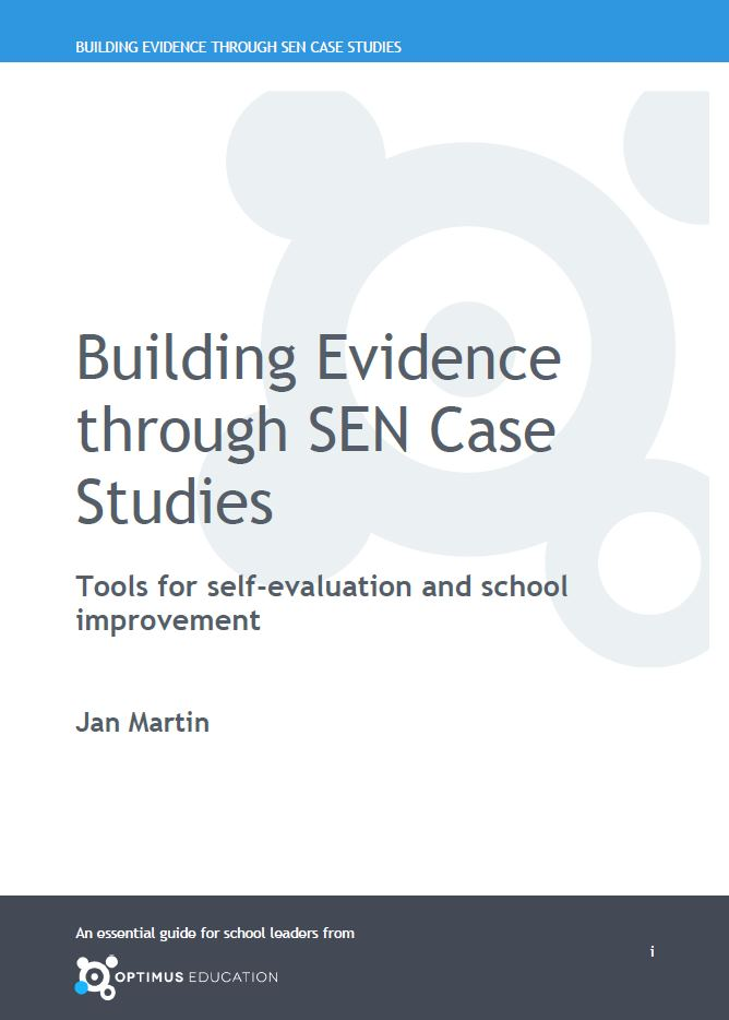 Book cover for Building Evidence through SEN Case Studies