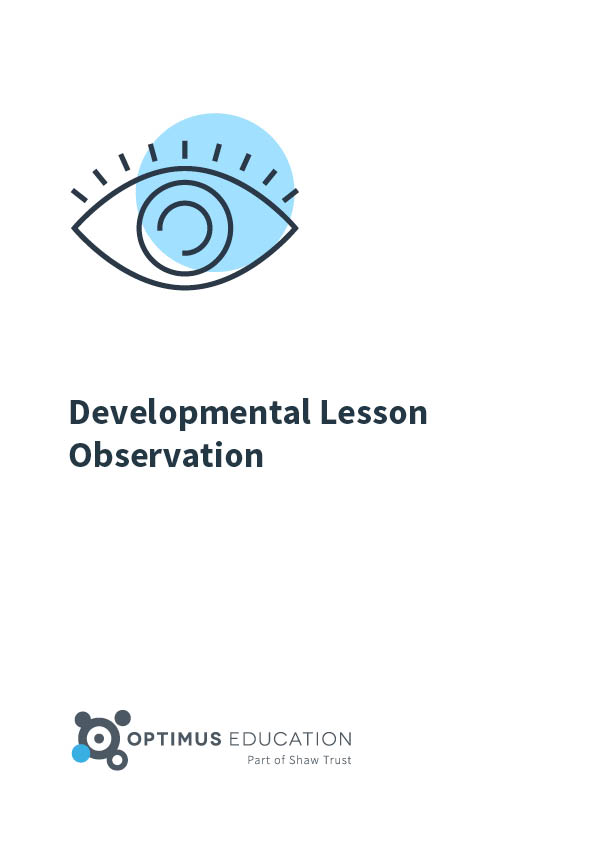 Developmental Lesson Observation ebook
