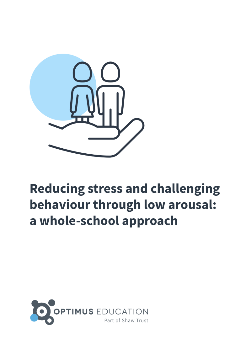 Reducing stress and challenging behaviour through low arousal ebook