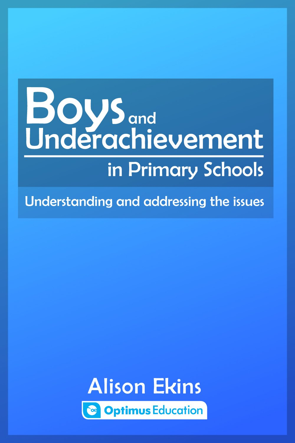 Boys and Underachievement in Primary Schools
