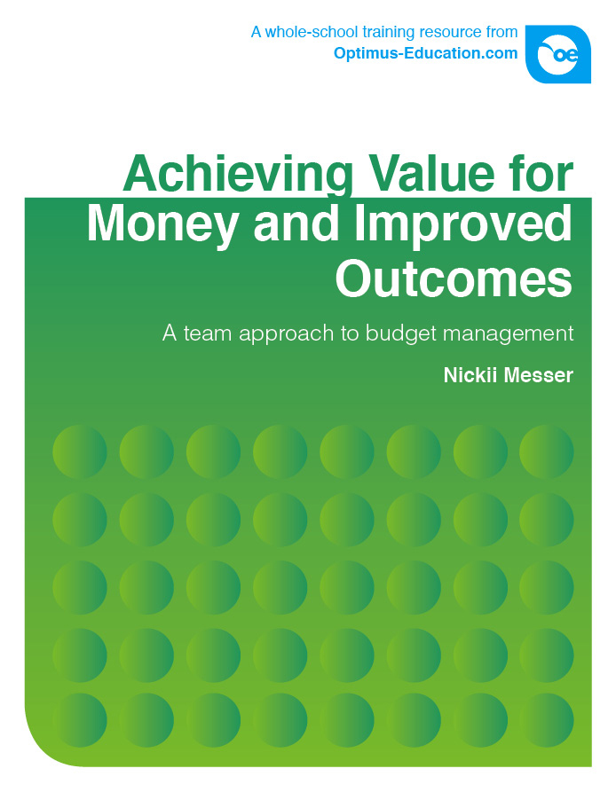 Achieving Value for Money and Improved Outcomes: A team approach to budget management