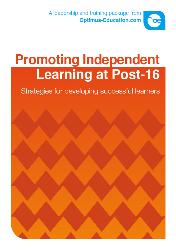 Promoting Independent Learning at Post-16: Strategies for ...